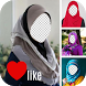 Beauty Hijab Photo Frame by HanaSys