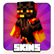 Skins Enderman for Minecraft by vkgames