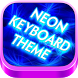 NEON Style 3D Keyboard Theme by Keyboard.Themes