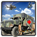 Army Rescue Mission Military Truck 3D : Warzone