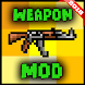 Weapon mod for minecraft PE by funmakermod