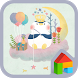 Sky dodol launcher theme by iConnect