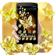 Black Golden Butterfly Theme