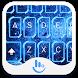 Light Blue Bubble Keyboard by TouchPal HK