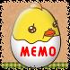 Memo Pad Mukitamago (sticky) by peso.apps.pub.arts