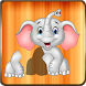 Animals Puzzle for Kids - Shape & Numbers Learning by salon games for girls