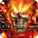 Fire Skull Keyboard Theme by Best Design Keyboard Theme - 2018 Android