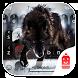 Wolf Theme & Emoji Keyboard by Best Keyboard Theme Design