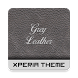 Grey-Leather Theme by Aswin Sarang