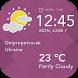 Today Weather Widget by Applock Security