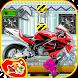 Sports Bike Factory Mechanic by Kids Fun Studio