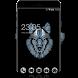 Abstract Animal Theme: Wild wolf HD wallpaper