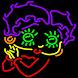 Betty Boop Neon Maze by Yoopsoft