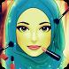 العاب بنات مكياج تلبيس الحجاب