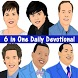 6 in One Daily Devotionals by Sozia Moris