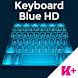 Keyboard Blue HD by BestKeyboardThemes