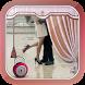 Love Curtain Screen Lock by KotKabir
