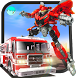 Robot Firefighter Rescue Fire Truck Simulator 2018 by Minja Studio