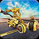 Futuristic Robot War: Tank Transform Robot games by Trendish