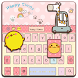 Pinky Kitty Keyboard Theme by Echo Keyboard Theme