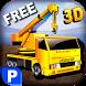 3D Crane Parking Simulator-BIG by Wacky Studios -Parking, Racing & Talking 3D Games