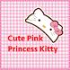 Pink Princess Kitty Theme by BeautifulTheme&Wallpaper