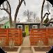 Minimalist Fence Home Ideas by FIBERAL