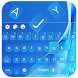 Sapphire Keyboard for J7 by Keyboard Theme Factory