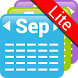 My Month Calendar Widget Lite by Baviux