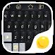 Black Gold Lion-Lemon Keyboard by PDK Theme Dev