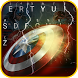 Captain Super Hero Theme&Emoji Keyboard by Fun Emoji Theme Creator