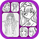 Learn to Draw Anime Girl by ElMurjee Studio