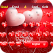 pink Valentine's Day Heart Theme Keyboard by Cool Theme Creator