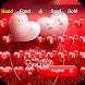 pink Valentine's Day Heart Theme Keyboard