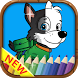 Paw Pups Patrol Paint Coloring by Runner Games for kids