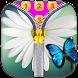 Butterfly Zip Screen Lock by Borkos Apps