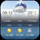 Skull Clock Weather Widget by Weather Widget Theme Dev Team