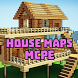 fun house maps for minecraft by White apps dev