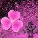 Dark Pink Theme GO Launcher by Workshop Theme