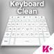 Keyboard Clean by BestKeyboardThemes