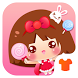 Cartoon Theme - Cute Girl Cartoon Theme by Themes for Android Free