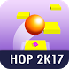 Hop 2k17 - Endless Zigzag Hop by RBGA Canvas