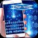 High tech Keyboard Theme by hot keyboard themes