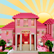 The Pink House Map for Minecraft by BestOFF