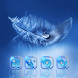 Diamond Feather by Launcher phone theme