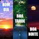 Mensagens de Bom dia, Boa tarde e Boa noite by Elementare Tecnologia