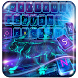 Neon Roar Tiger Keyboard Theme by Theme Artist
