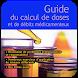 Calcul De Doses Et De Débits Médicamenteux