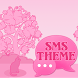 Cat Pink Theme GO SMS Pro by Workshop Theme