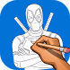 How to Draw Deadpool by Empire Studio